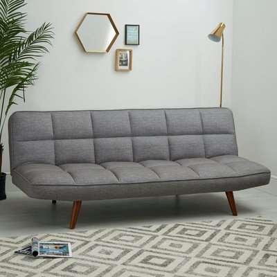 Xander Colour Pop Clic Clac Sofa Bed - Grey Grey