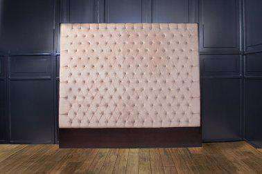 Artis Diamond Tufted Headboard with Luxury Upholstery Velvet Fabric