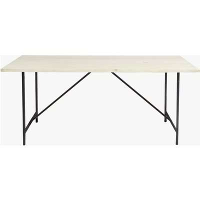 Amalfi Dining Table - natural wood
