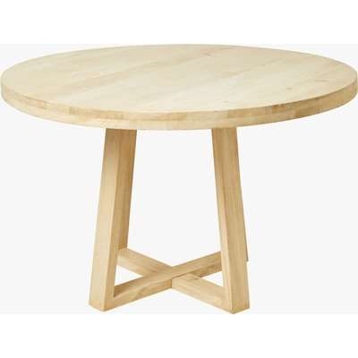 Blonde Round Dining Table - natural