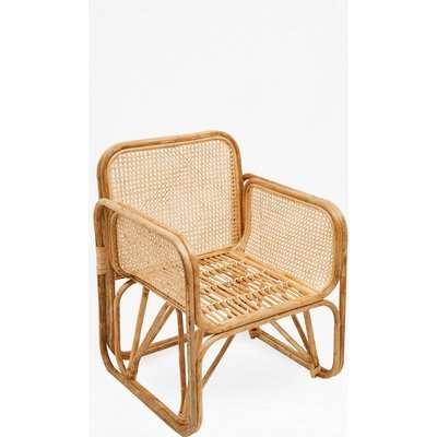 French Cane Chair - natural