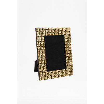Gold Studded Photo Frame - gold