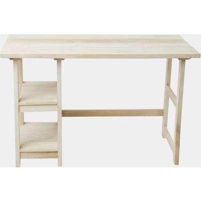 Long Island Blonde Desk - blond wood