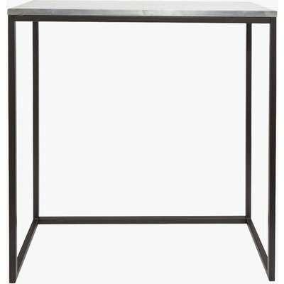 Zinc Bar Table - silver
