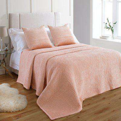 Brooklands Bedspread Blush