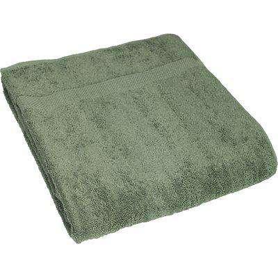 Loft Combed Cotton Bath Sheet Eucalyptus