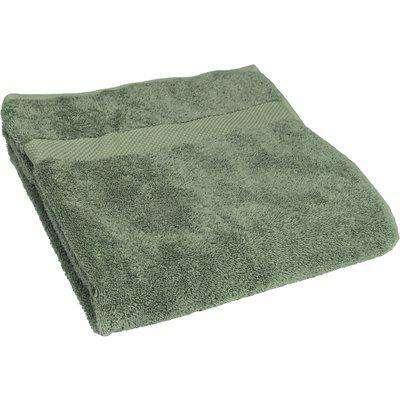 Loft Combed Cotton Bath Towel Eucalyptus
