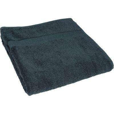 Loft Combed Cotton Bath Towel Blue Slate
