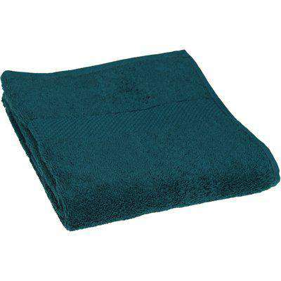 Loft Combed Cotton Hand Towel Teal