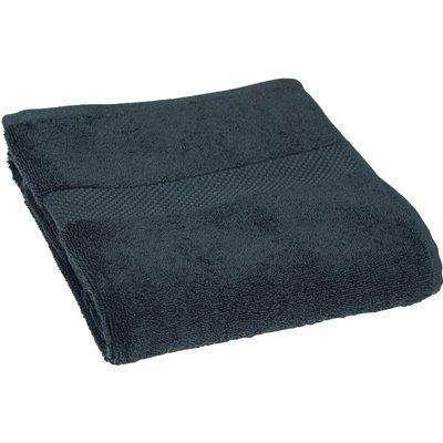 Loft Combed Cotton Hand Towel Blue Slate
