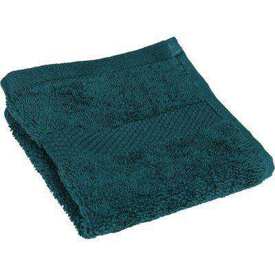 Loft Combed Cotton 4 Pack Face Cloth Teal