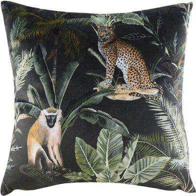 Kibale Jungle Animals Cushion Multicolour