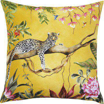 Leopard Outdoor Cushion Gold