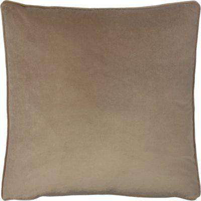 Opulence Soft Velvet Cushion Biscuit