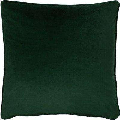 Opulence Soft Velvet Cushion Bottle Green