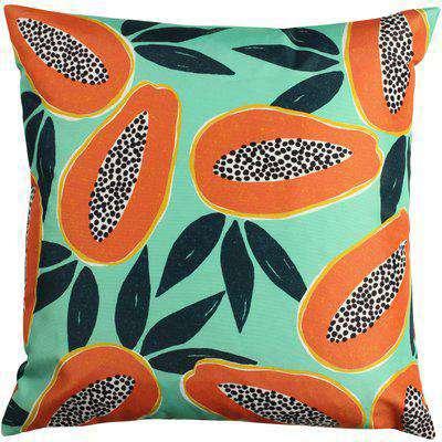 Papaya Outdoor Cushion Aqua