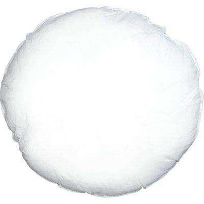 Polyester 50cm Circle Round Cushion Pad/Inner White