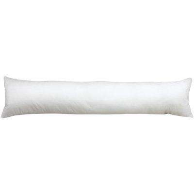 Polyester Draught Excluder Cushion Pad/Inner White