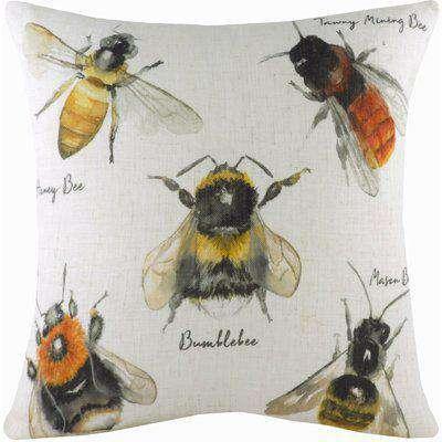 Species Bee Cushion Multicolour