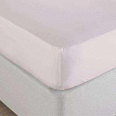 Stonewash Fitted Bed Sheet Blush