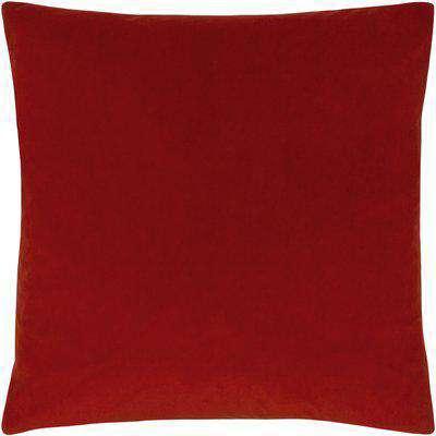 Sunningdale Velvet Square Cushion Flame