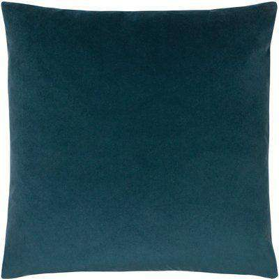 Sunningdale Velvet Square Cushion Kingfisher
