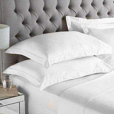 200 Thread Count Oxford Pillowcase White