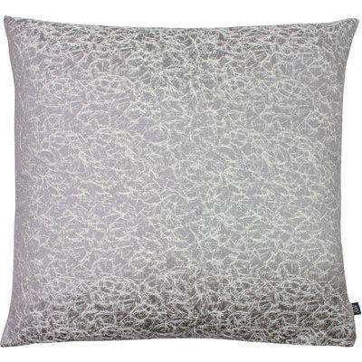 Wick Organic Motif Cushion Dove/Silver