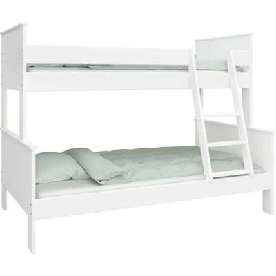 Alba Wooden Family Bunk Bed In White