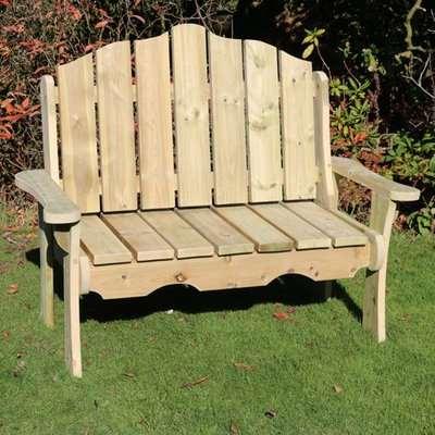 Altos Wooden Outdoor 2 Seater Bench