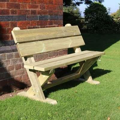 Amersham Wooden Outdoor Seating Bench