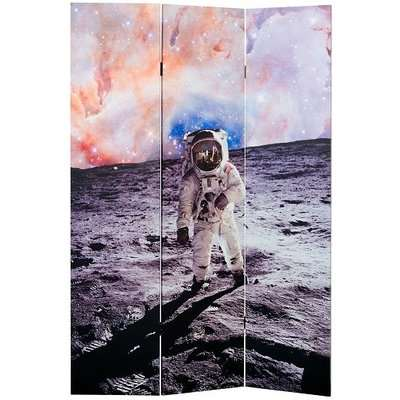Barnt Space Man Double Sided Print Design Room Divider