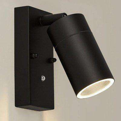 Caroli Outdoor Wall Light With Dusk Till Dawn Sensor In Black