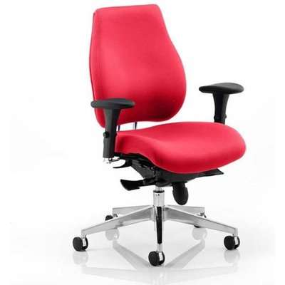 Chiro Plus Office Chair In Bergamot Cherry With Arms
