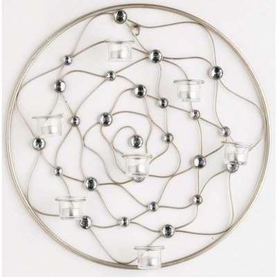 Circular Wire Gem Wall Art
