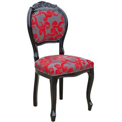 Crested Spoonback Contract Dining Chair With Wooden Frame