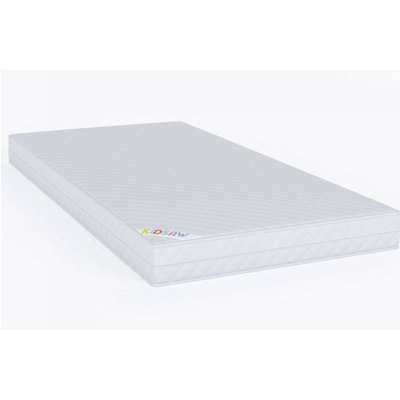 Deluxe Kids Quilted Sprung Cot Single Mattress