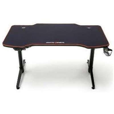 DxRacer Adjustable Height Wooden Computer Desk In Black