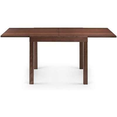 Jakey Wooden Extending Dining Table In Walnut Effect