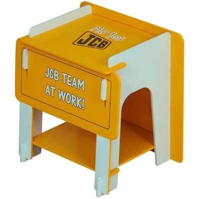JCB Kids Bedside Cabinet In Yellow