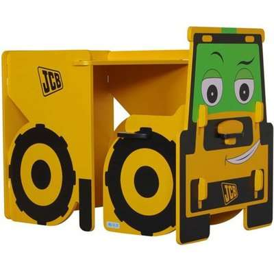 JCB Kids Desk With Chair In Yellow