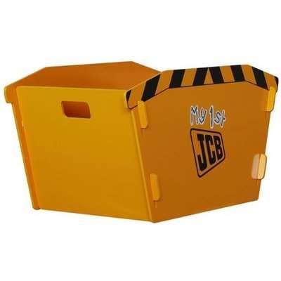 JCB Kids Skip Toy Box In Yellow