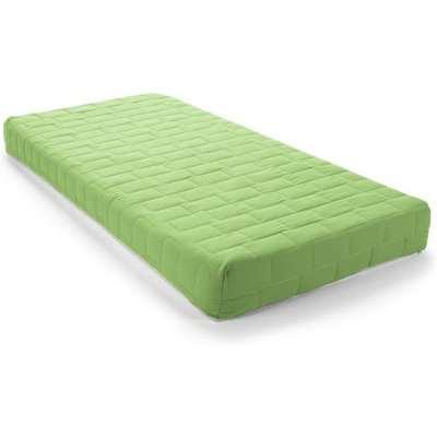 Kids Flex Reflex Foam Firm Small Single Mattress In Green