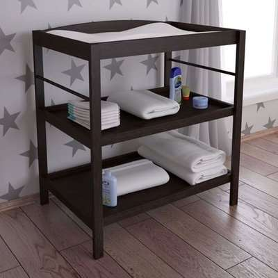Kudl Kids Wooden Changing Table In Wenge