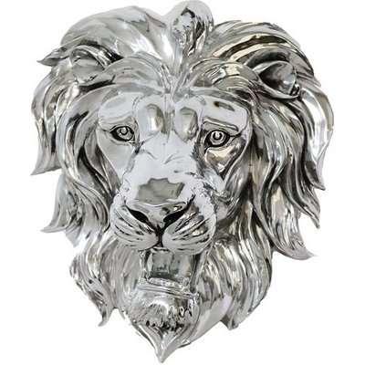 Lion Head Wall Mounted Sculpture