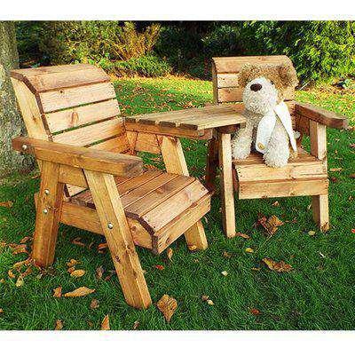Nepta Angled Kids Armchair Set With Angled Tray