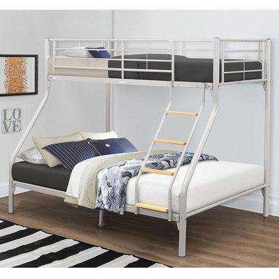 Nexus Steel Bunk Bed In Silver