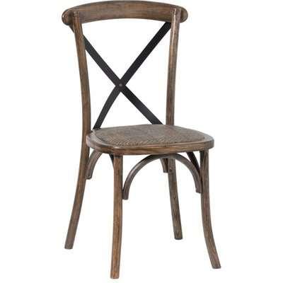 Oatlin Cross Back Wooden Dining Chair In Oak