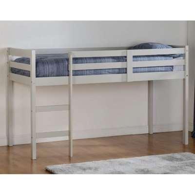 Panama Wooden Mid Sleeper Bunk Bed In Grey