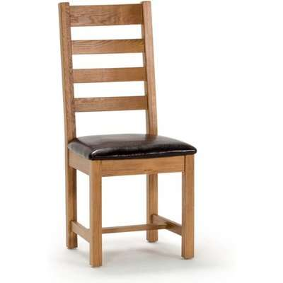 Ramore Ladder Back Wooden Dining Chair In Natural